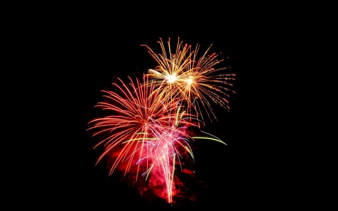 Inaugural Fireworks Show a success!